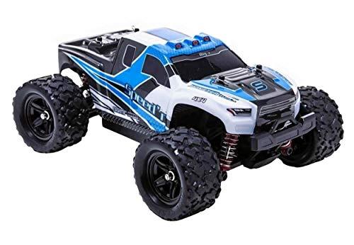 blij´r Speed´r Blau ferngesteuertes RC Auto 45 km/h, 1:18, 2 Akkus, 4x4 Allrad, 100m Reichweite, Monstertruck RTR Buggy