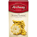 Archway Cookies, Frosty Lemon, 9.25 Ounce (Pack of 9)