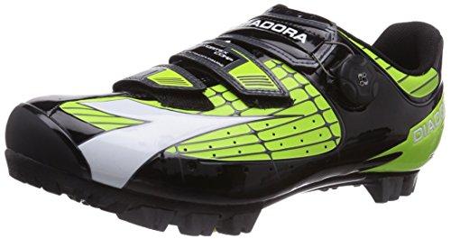 Diadora Unisex-Erwachsene X Vortex- COMP Radsportschuhe - Mountainbike, Mehrfarbig (grün/schwarz 2174), 41 EU