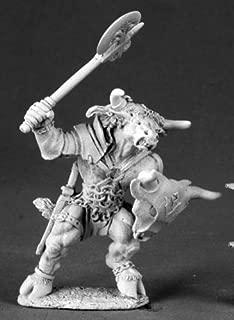 Tarsus Minotaur Adventurer Dark Heaven Legends by Reaper