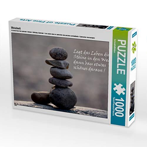 CALVENDO Puzzle Weisheit 1000 Teile Lege-Größe 64 x 48 cm Foto-Puzzle Bild von SchnelleWelten