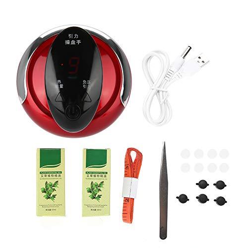 Elektrischer Rückenmassagegerät, USB Elektrisches Schaben Massagegerät Unterdruck Ausbaggern Abnehmen Massage Gua Sha Gesundheitsgerät