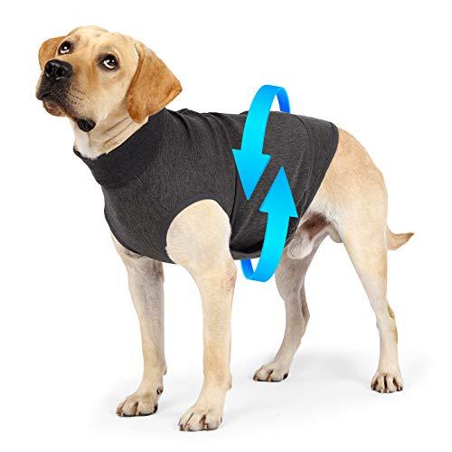 Chaqueta de alivio de ansiedad para perro, ligera, suave, para aliviar el estrés, mantener la calma, comodidad