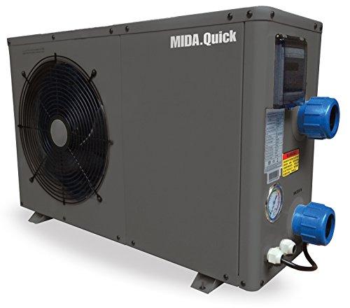 Midas Wärmepumpe für Pool Mida Quick 13 60 m3 12,5 kw /220 V Code 2704