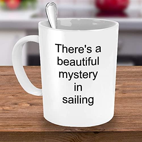 Eastlif Regalo Taza de café de Vela Hay un Hermoso Misterio en la navegación