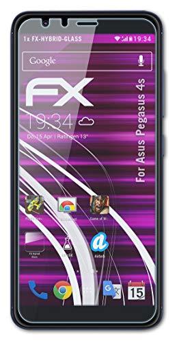 atFolix Glasfolie kompatibel mit Asus Pegasus 4s / Zenfone Max Plus M1 Panzerfolie, 9H Hybrid-Glass FX Schutzpanzer Folie