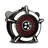 Spike turbine AIR CLEANER for harley sportster XL 883 1200 1991-2019 red filter