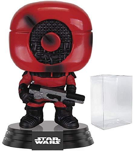 Star Wars: The Force Awakens – Guavian Enforcer Funko Pop! Figura de Vinilo (Incluye Funda Protectora Compatible con Pop Box)