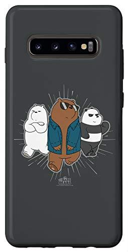 Galaxy S10+ We Bare Bears Jacket Case