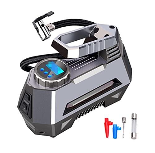 Gonfiatore per pneumatici a compressore d'aria auto portatile 150 PSI 1 2V DC. Pompa dei pneumatici con manometro digitale Auto Bright Emergency Tholer (Color Name : Digital)