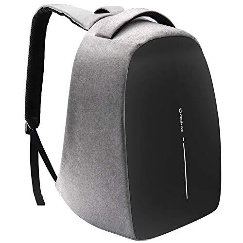 Daskoo Zaino di Ricarica Antifurto, Zaino per Laptop da 15,6 Pollici con USB Porta di Ricarica Zaino da Viaggio Business impermeabile