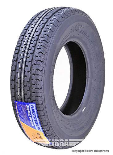 One Premium FREE COUNTRY Trailer Tire ST185/80R13 8PR/Load Range D w/Scuff Guard