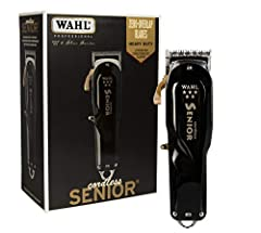The 5 Star Cordless Senior is a one of a kind clipper with it's precision fade blades, metal bottom housing and cord/cordless capabilities. It's powerful rotary motor results in consistent power to tackle thick hair. The 2191 blades are adjustable wi...