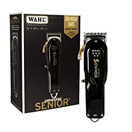- 41HfL34du4L - Wahl Professional 5-Star Series Cordless Senior #8504-400