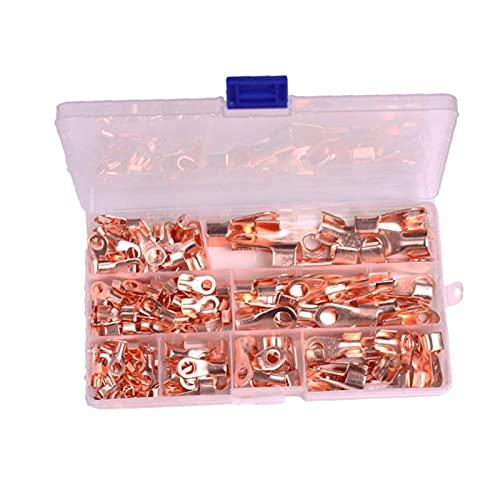 SHANG-JUN Anchor Push Bague de cuivre Ouverte Berinale de cuivre Terminals Kit d'assortiment OT 10A 20A 30A 40A 50A Accessoires de pêche pour Bateaux