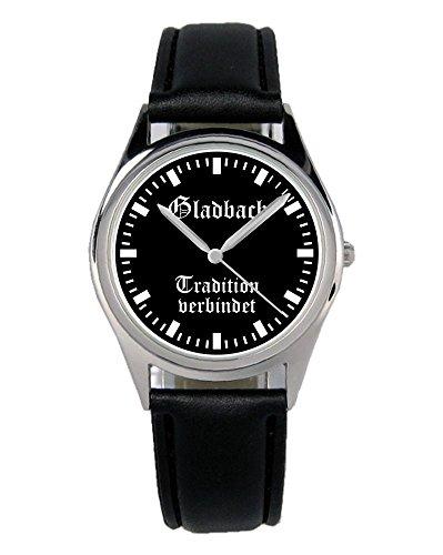 Gladbach Geschenk Artikel Idee Fan Uhr B-1955