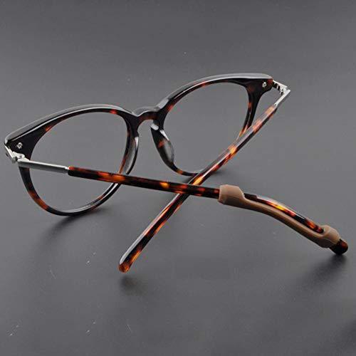 6 Paar Weiche Silikon Brillen Ohrpolster Bügel Spitzen Brillen Pads Anti Rutsch Brillen Ohrbügel Komfort Ohrbügel Brillen Beinschutz Sport Brillen Bügelhalter Für Lesebrillen
