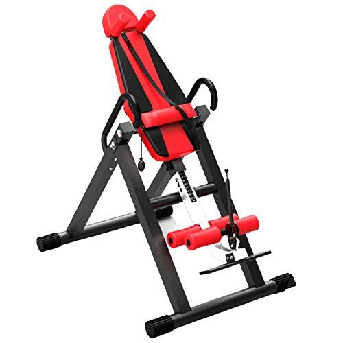 JFF Tabla De Inversión De Gravedad Ejercicio En Casa Equipo De Fitness Tabla De Inversión De Capacidad De Peso Más Alta De Gravedad,Rojo