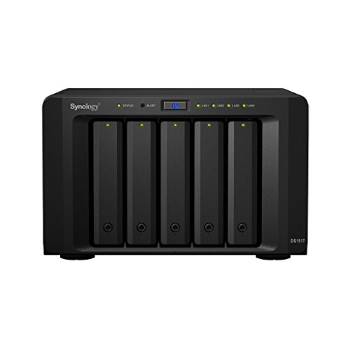 Synology DiskStation DS1517 Collegamento ethernet LAN Scrivania Nero NAS