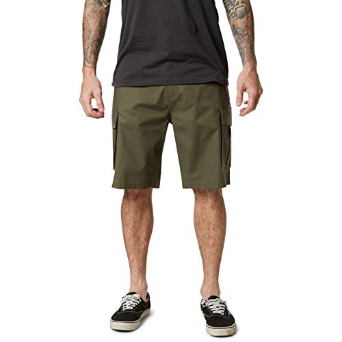 Fox Slambozo 2.0 - Pantalón corto (talla 38), color verde