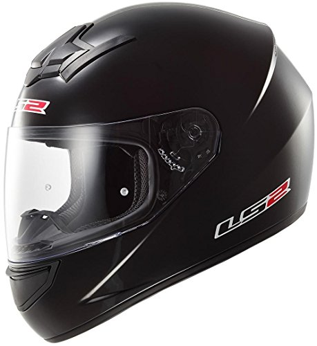 LS2 103521012XL FF352 Casco Rookie Solid, Color Negro, Tamaño XL