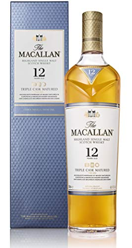 Macallan - Fine Oak Triple Cask Matured - 12 year old Whisky