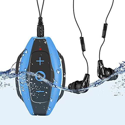 Mp3 Acuatico 8GB, AGPTEK S05 Waterproof...
