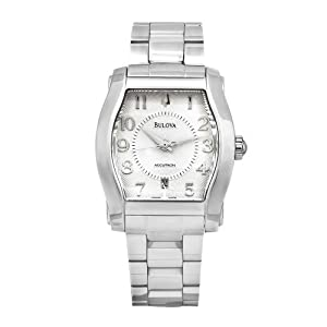 Bulova Men's 63B010 Accutron Stainless Steel Swiss Automatic Silver Dial Watch image
