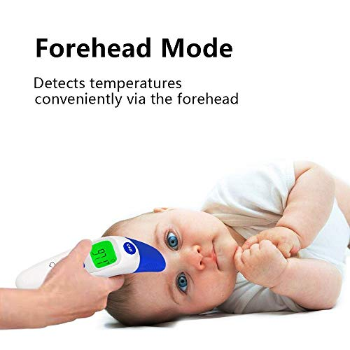 QQCute Baby Forehead Thermometer with Ear Function