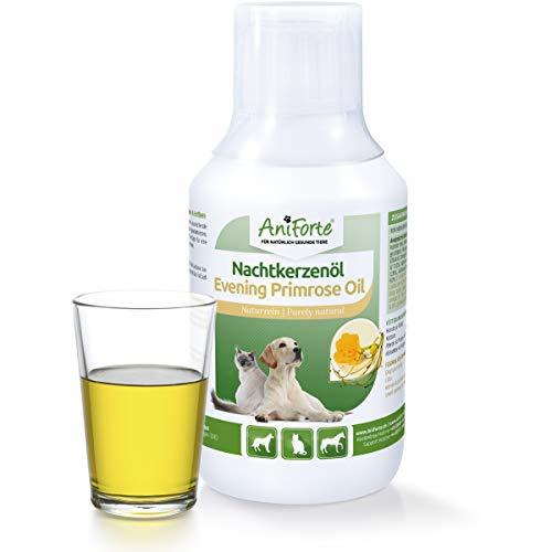 AniForte natürliches Nachtkerzenöl 250 ml- Naturprodukt für Hunde und Katzen