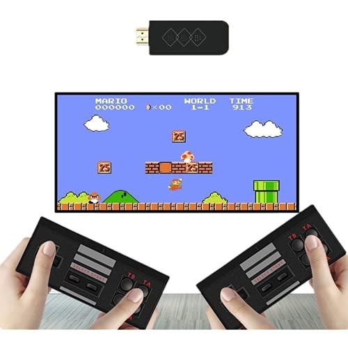 Plug and play video game sem fio com 818+ jogos clássicos retro stick com jogos arcade antigos 4K HD Plug & Play video game para TV,suporte extremo de mini game caixa nes jogos Ideal Gift Choice for kids and Adults