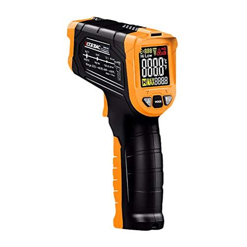 Infrarood Thermometer, Non-contact Laser Digitale Thermometers, Kleur Lcd-scherm-58 ? ~ 1022 ?(-50 ? ~ 550 ?) Verstelbare Emissiviteit Vochtigheid Alarm Houden Indoor Voedsel Koken Outdoor
