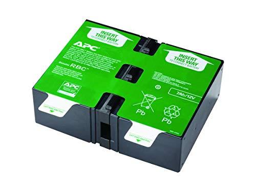 Schneider Electric APCRBC123 123 Cartucho de Batería de Sustitución de APC, 20.3cm...