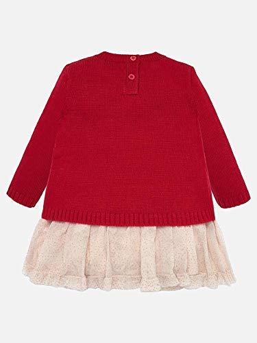Mayoral 19-02922-030 - Vestido para bebé niña 24 Meses