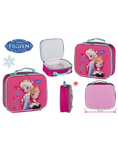Borsa termica per bambini Frozen, 24 x 8,5 x 20 cm