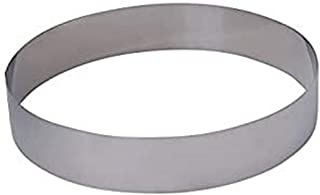 De Buyer - 3989.20 - Cercle Rond - 20 x 4,5 cm - Inox