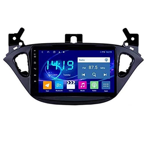 Amimilili Autoradio Android 8.1 per Opel Corsa 2015 2016 Navigazione GPS 9' Touch Screen Car Stereo Player Chiamate Hands-Free MirrorLink SWC WiFi Bluetooth FM,4 cores WiFi:2+32g