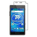 TM-Concept® Cristal templado – FairPhone 2 – Cristal de protección 0,26 mm Radian 2.5D