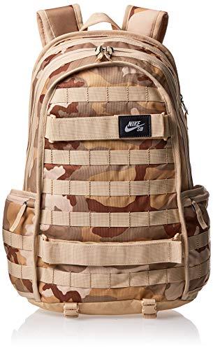 Nike BA6118, Mochila para Hombre, Multicolor Camo/Desert C, 15x24x45 cm (W x H x L)