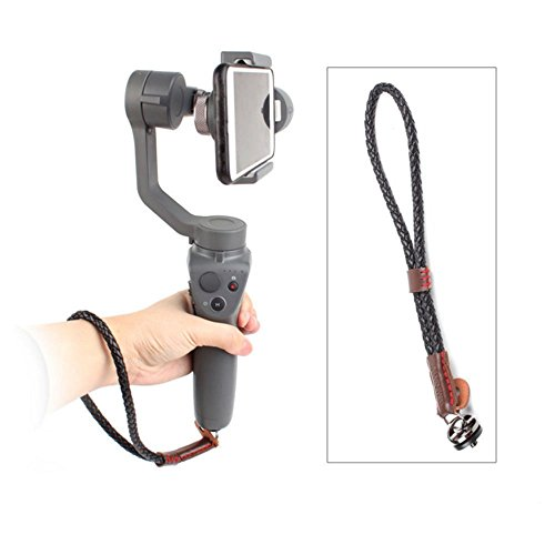 Hooshion Handheld Gimbal Camera Hand Strap Wrist Strap Wristband Sling Lanyard with 1/4 Screw for Osmo Mobile 3 Osmo Mobile 2 Handheld Gimbal Camera Smooth 4 Gopro