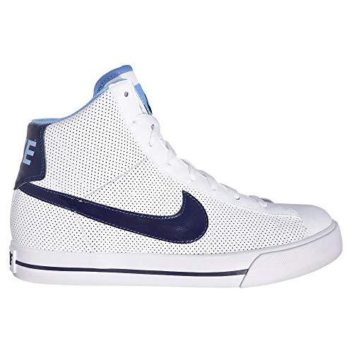 Nike - Sweet Classic High Gsps - 367112116 - Farbe: Weiß-Hellblau - Größe: 35.5 EU