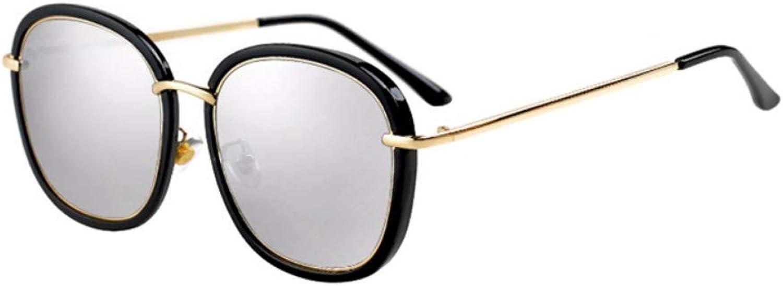 Fuqiuwei Sonnenbrillen Simple And Versatile Personality Retro Sunglasses Female Round Face Sunglasses Square Face