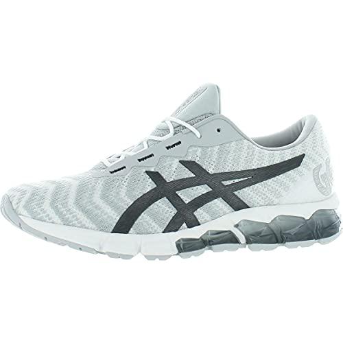 ASICS Men#039s GelQuantum 180 5 Running Shoes 115M Piedmont Grey/Graphite Grey