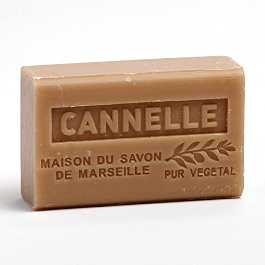 パースブラックボロウ一流拡大するSavon de Marseille Soap Chinnamon Shea Butter 125g