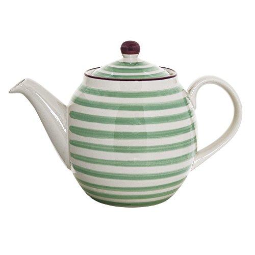 Bloomingville Teekanne Patrizia, grün, Keramik
