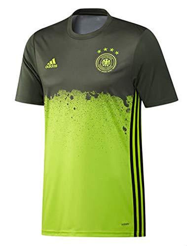 adidas - Trikots - UEFA EURO 2016 DFB Pre-Match Auswärtsshirt - Semi Solar Slime - M