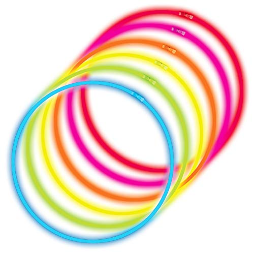 Glow Sticks Bulk 100ct 22