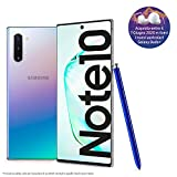 Samsung Galaxy Note10 Smartphone, Display 6.3' Dynamic AMOLED, 256 GB Espandibili, RAM 8 GB, Batteria 3.500 mAh, 4G, Dual SIM, Android 9 Pie, [Versione Italiana], Aura Glow