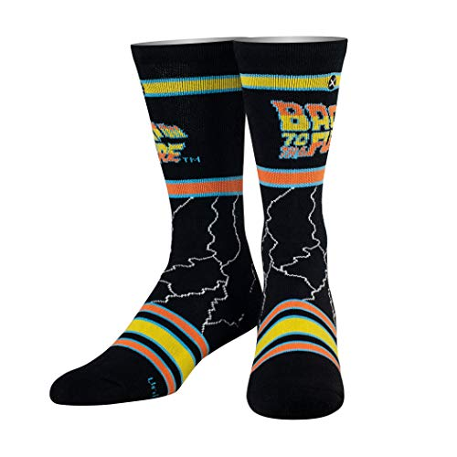 Odd Sox Unisex Crew-Socken - Back to the Future (Zuruck in die Zukunft)