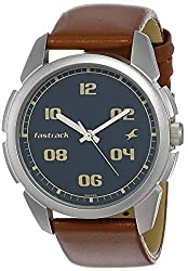 Casual Analog Blue Dial Men's Watch